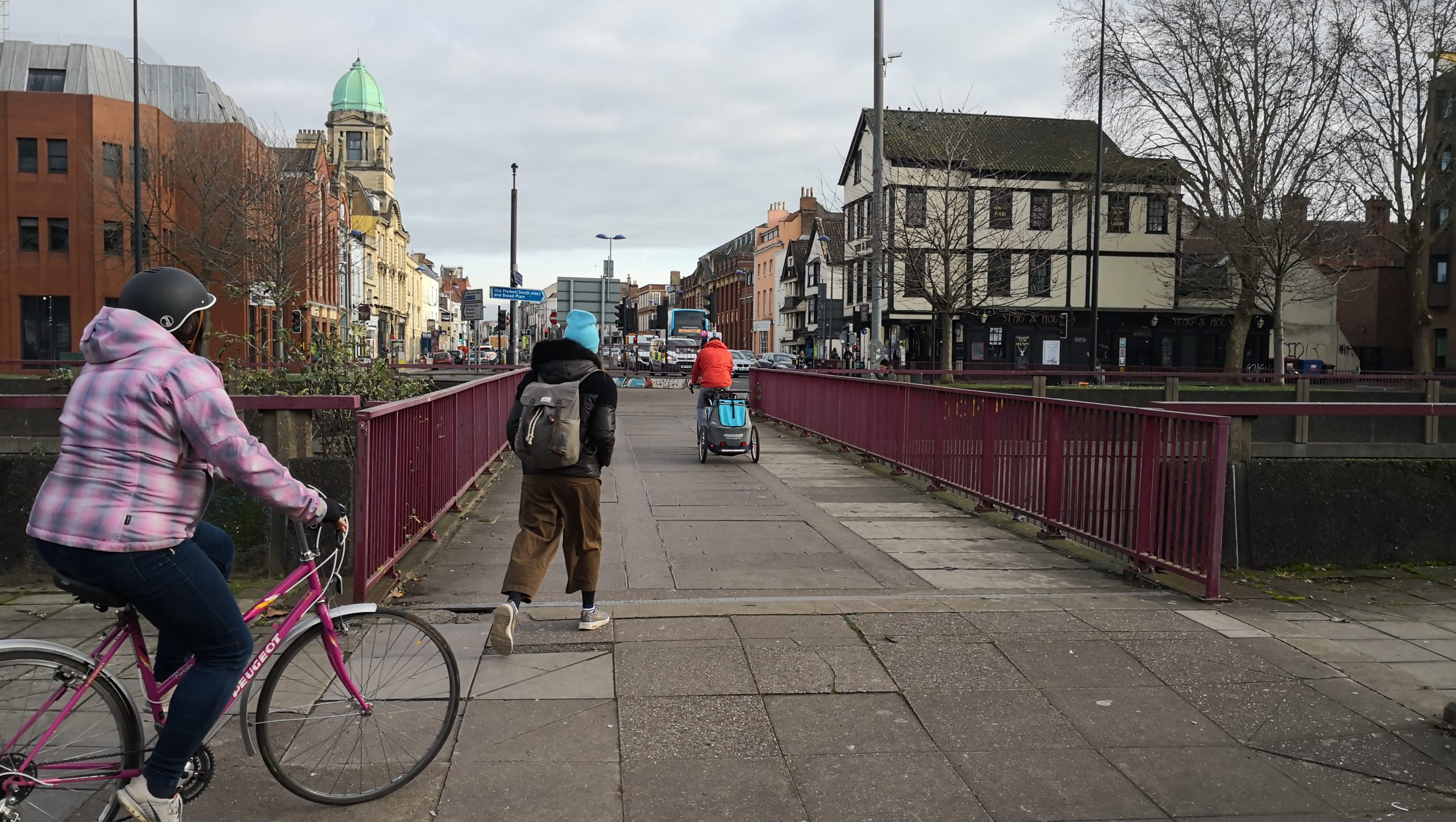 Old Market Cycle Safety Project - Existing Old Market Route