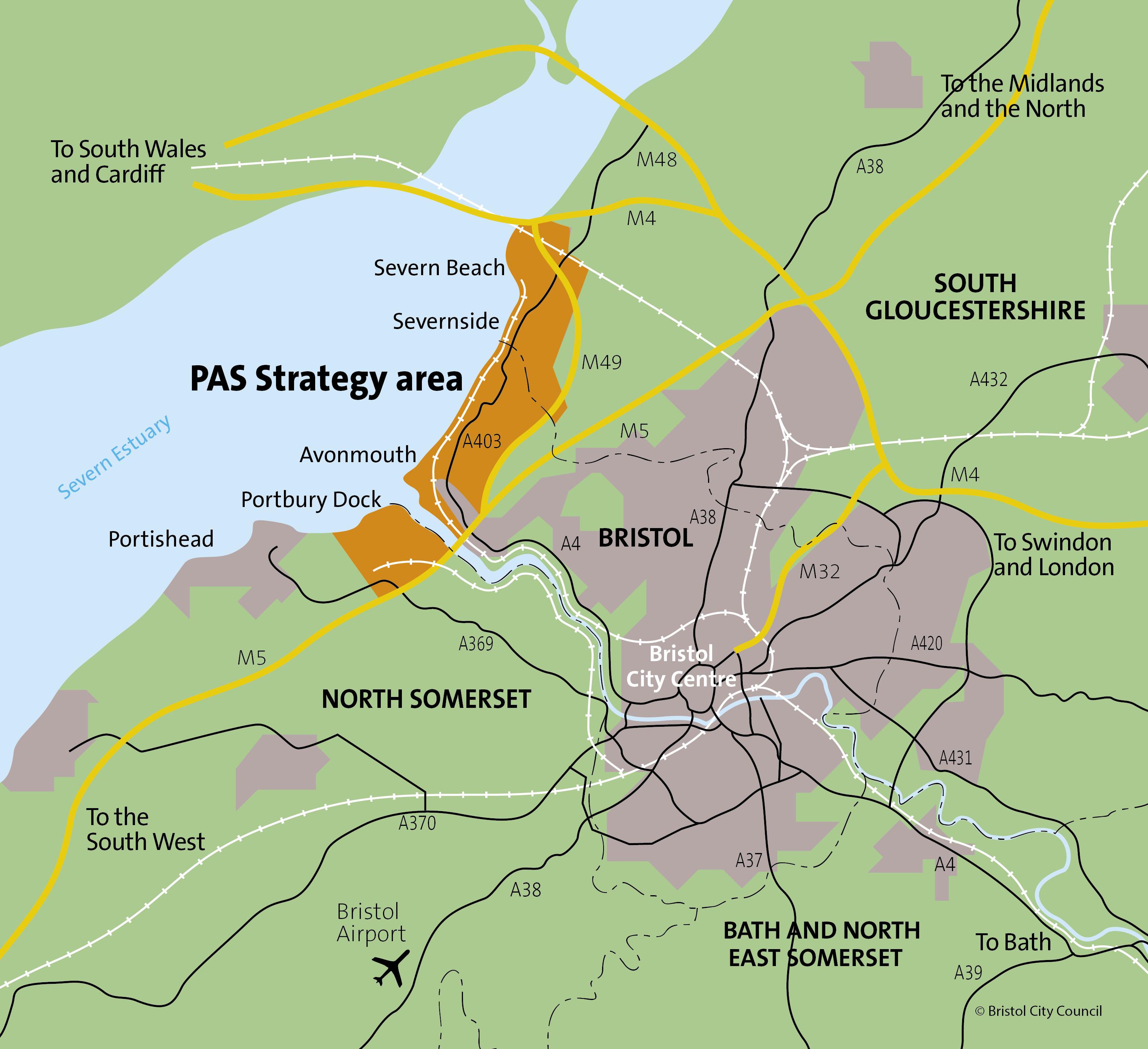 PAS - Area map