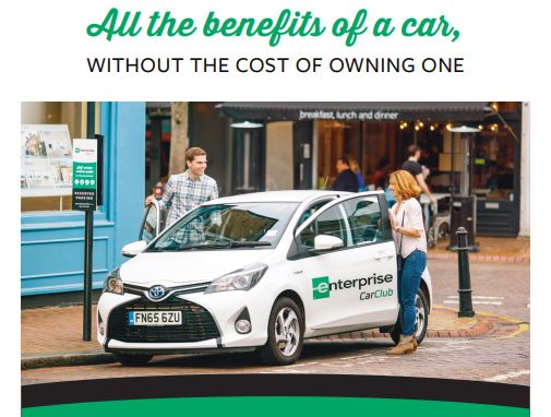 All the benefits of a car, without the cost of owning one. Download flyer.