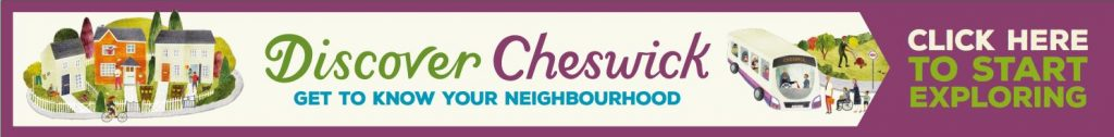 Discover Cheswick. Get to know your neighbourhood. Click here to start exploring.
