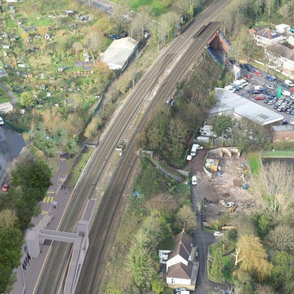 Ashley Down Station Aerial view 1