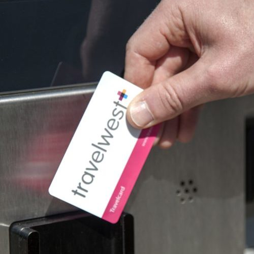 metrobus - travelcard being used at iPoint