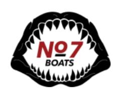 Number 7 Boats logo