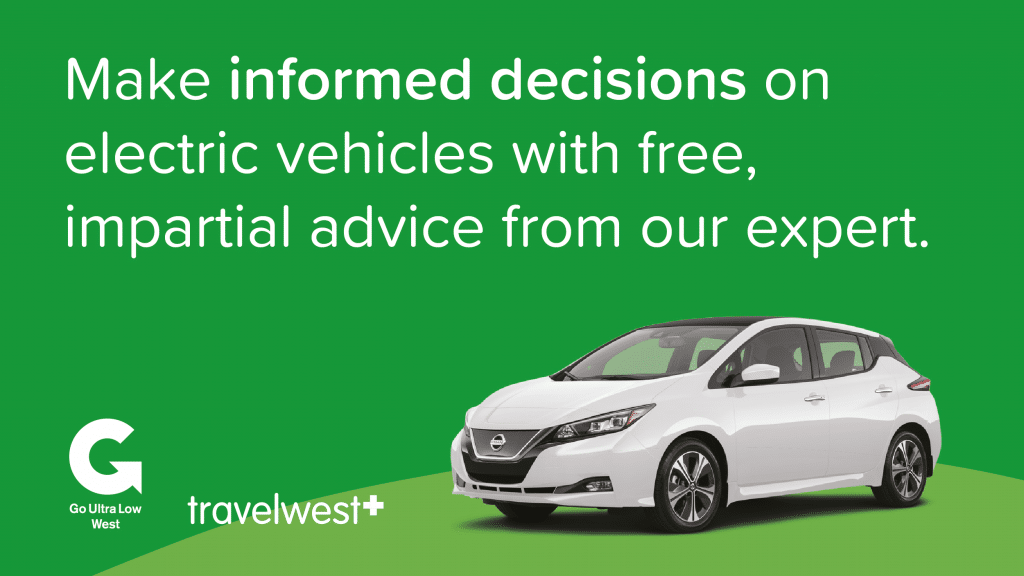 Make informed decisions on electric vehicles with free, impartial advice from our expert. Photo of white electric vehicle on green background.