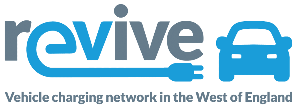 Revive. Vehicle charging network in the West of England.